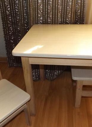 Детский столик + 1 стульчик