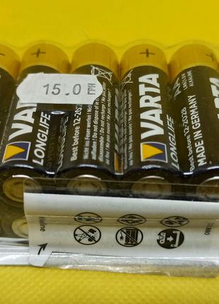 Батарейки VARTA LongLife АА, LR6 / 1,5 V - 12 шт.