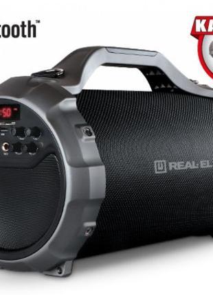 Портативная акустическая система REAL-EL X-750 bluetooth, караоке