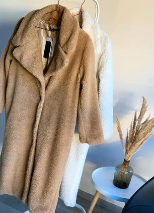 Теплое пальто , шуба эко-мех, эко шуба