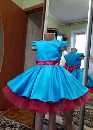 Платье для ваших девочек нарядное на любой праздник