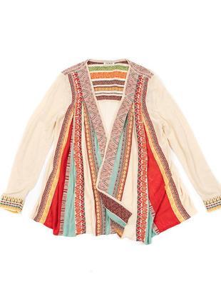 Ivko jacket with pleats женская етно куртка накидка кофта miss...