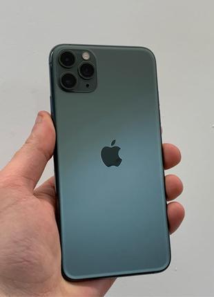 б/у iPhone 11 Pro Max 64 gb Midnight Green Neverlock