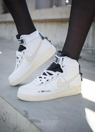 Nike air force 1 high utility white