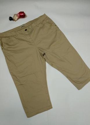 Укороченные стрейч джинсы бриджи 20/54-56 размера