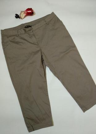 Новые укороченные стрейч джинсы бриджи 18/52-54 размера