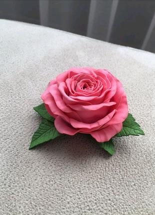 Розы из сахарной мастики