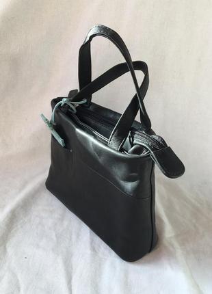 Кожаная маленькая сумка