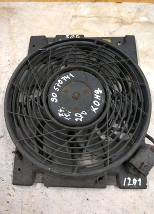Вентилятор радиатора кондиционера для Opel Astra G 1.7dti 2.0dti