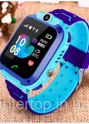 Детские водонипроницаемые умные часы Smart Baby watch q12