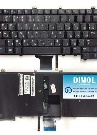 Оригинальная клавиатура для ноутбука Dell Latitude 7000 series