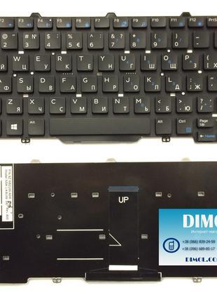 Оригинальная клавиатура для ноутбука Dell Latitude E3340, E7450
