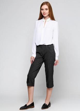 Продам брюки-бриджи тёмно-серого цвета
