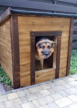 Красивая будка для овчарки | Большой собаки