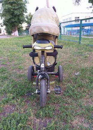 Трехколесный велосипед с родительской ручной Crosser One (крос...