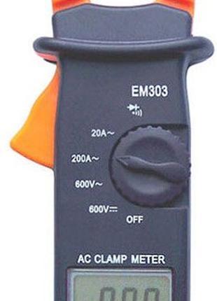 Мультиметр токоизмерительные клещи ЕМ303