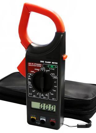 Мультиметр токоизмерительные клещи DT266C