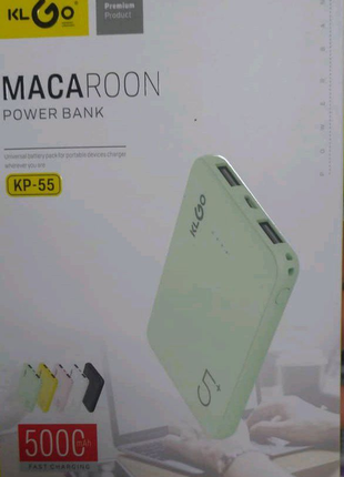 power-bank 5 000 mAh