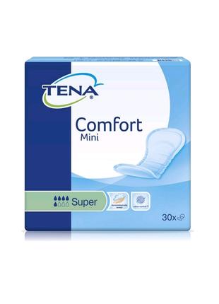 Урологические прокладки для женщин Comfort Mini Super 30шт TENA