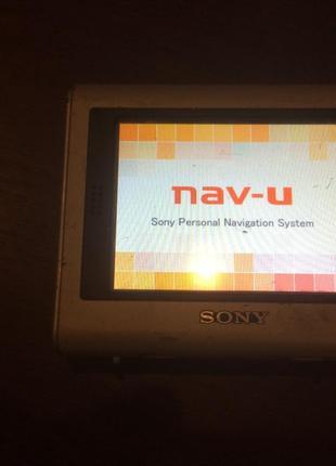 Навигатор Sony NV-U50