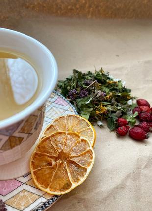 Травяной чай собственного сбора