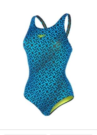 Спортивный купальник speedo monogram allover muscleback