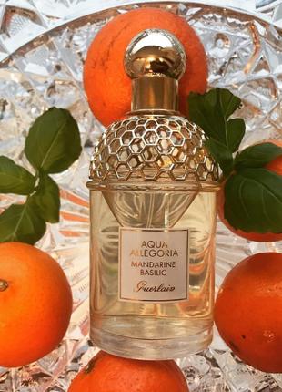 Духи Герлен аква Guerlain aqua allegoria mandarine basilic 75 ml