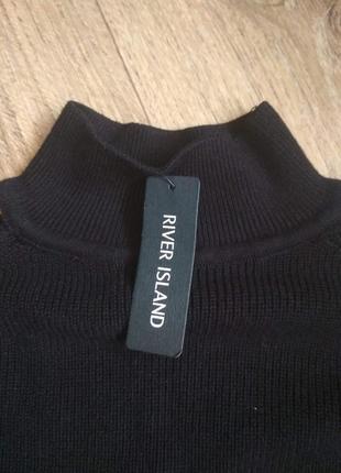 Дешево! удлиненный свитер, туника с оголенными плечами и рукам...