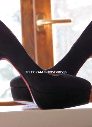 Замшевые туфли Kamengsi, 36 размер
