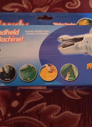 Дешево, нова мини швейная машинка