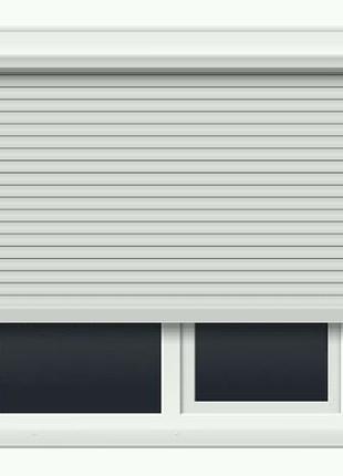 Защитный ролет на окно 1300х1400 мм