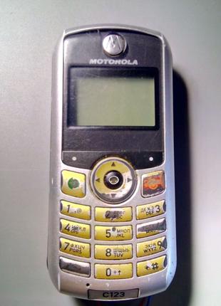 Телефон Motorola C123