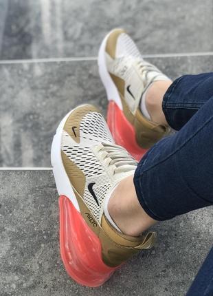 Шикарные женские кроссовки nike air max 270 😍 (весна/ лето/ ос...