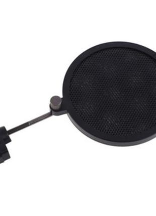 Металлический поп фильтр для конденсаторного микрофона(анти ветер
