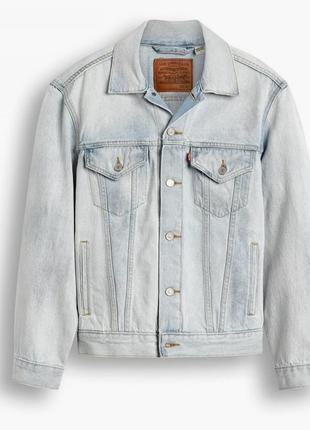 Vintage fit trucker jacket - light wash   levi's® us