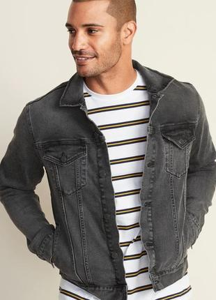 Куртка мужская джинсовая old navy xl