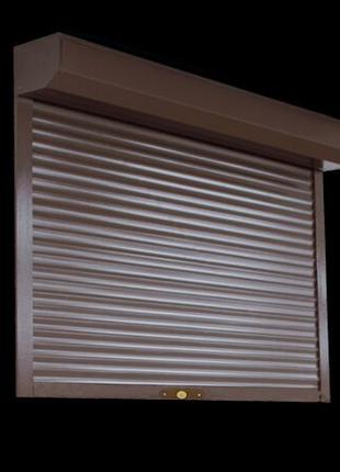 Защитный ролет на окно 2050х1400 мм