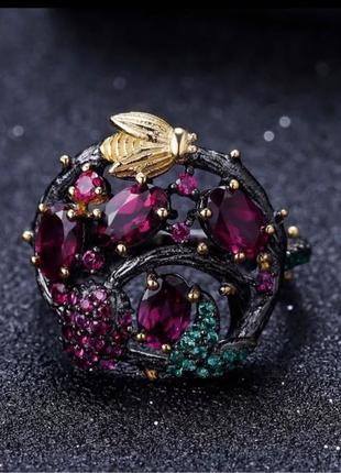 Серебряное кольцо 925 проба.