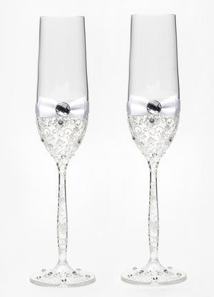 Бокалы для шампанского ( разные цвета)