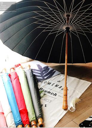Парасоля антишторм на 24 спиці. Японський стиль