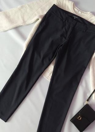 Зауженные брюки брючки штаны в полоску р.14