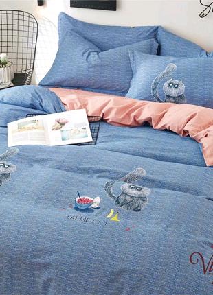 Подростковое постельное белье Viluta Сатин Твил 434 Полуторный SK