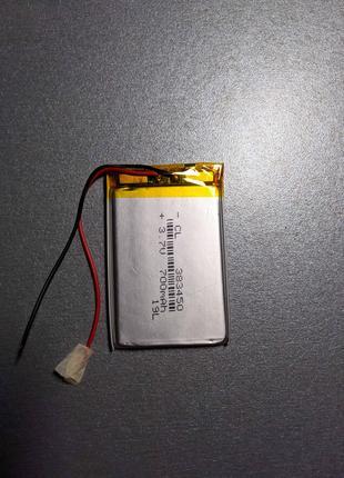 Аккумулятор батарея 383450 для электронной книги планшета 700мАh