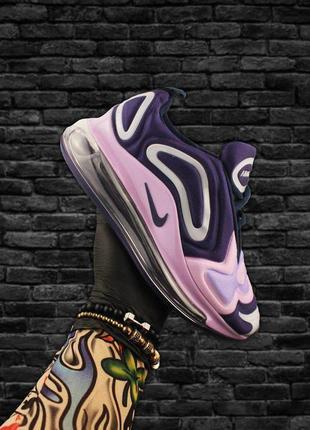 Кроссовки женские air max 720 violet pink