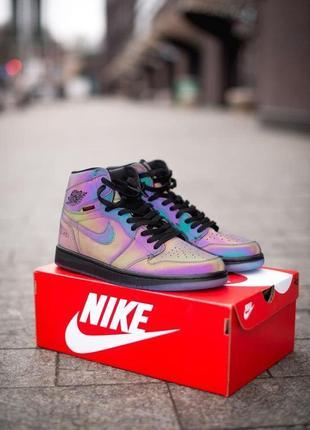 Nike air jordan retro reflective