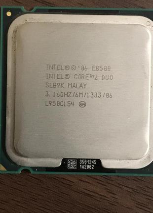 Процессор Intel Core 2 Duo E8500 (2 ядра 3.16 Ghz)Socket 775