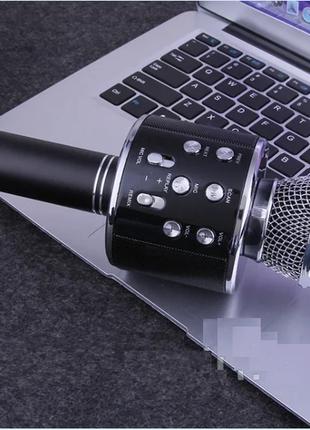 Бездротовий мікрофон-караоке WSTER WS-858 чорний