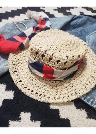 Летняя шляпа, пляжная