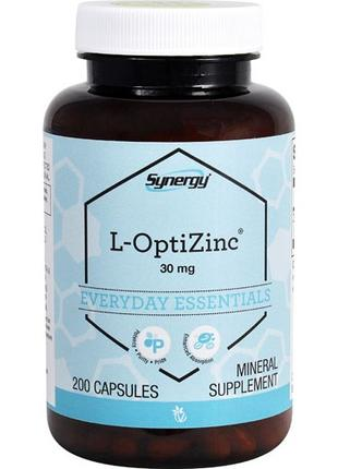 Vitacost Synergy L-OptiZinc® 30 mg 200 капсул