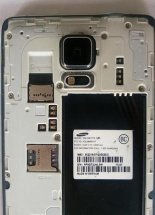 Samsung galaxy note 4 n910 оригинал разборка